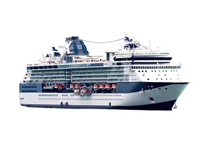Kreuzfahrtschiff finden